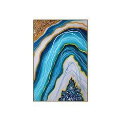 Framed Wall Art Abstract Seascape epoxy Resin Geode Crystal   Etsy Pour Painting, Painting Process, Painting Frames, Frames On Wall, Framed Wall Art, Large Art Prints, Wall Art Pictures, Acrylic Pouring, Resin Art