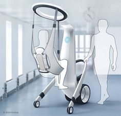 MediRobot: Medical Robot Assistant lifts and transfers patients easily. Design with meaning! Tuvie | http://www.tuvie.com