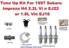 Tune Up Kit 1997 Subaru Impreza Serpentine Belt, Oil Fuel Filter, Spark Plug PCV