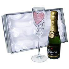 Personalised Love Mini Champagne Set