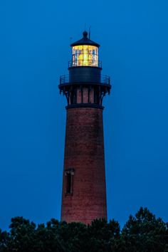 Currituck Beach Lighthouse in Corolla, North Carolina
