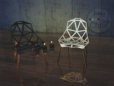 Magis Chair One at SimsTong via Sims 4 Updates Check more at http://sims4updates.net/furniture/magis-chair-one-at-simstong/