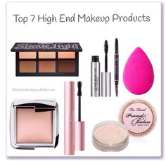 7 Killer Best High End Makeup Products High End, Makeup Tips, Must haves, starter kit, for beginners, Makeup products essentials, 2016 beauty products