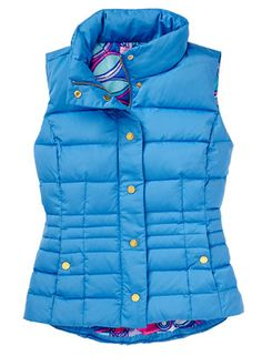 Gifts: Gifts For Her, Hostess Gifts & Lilly Pulitzer Prints, Lily Pulitzer, Northern Girls, Resort 2015, Puffer Vest, Type 1, Autumn Winter Fashion, Vests, Preppy
