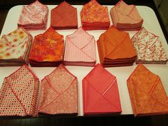 BonnieProjects: Cloth Napkin Wedding Favors