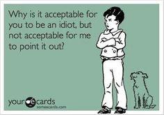 Just Plain Dumb!