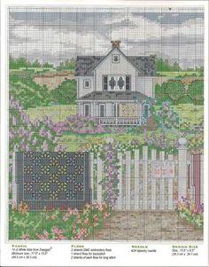 Gallery.ru / Фото #34 - 164 Quilts Cross Stitch - joobee