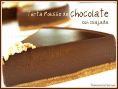 Sweet Desserts, Dessert Recipes, Dessert Thermomix, Queso Cheese, Tasty, Yummy Food, Yummy Yummy, Chocolate Desserts, Tarta Chocolate