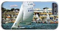 Sailing Boat iPhone 6 Case by Jean Francois Gil