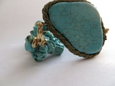 Turquoise Bracelet by RoniSeaVintage on Etsy, $35.00