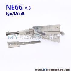 LISHI NE66 v.3 Ign/Dr/Bt 2 in 1 Auto Pick and Decoder For VOLVO