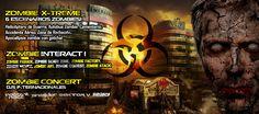 ZombieFest se presentará en el DF el próximo Sábado. Evento Sold Out