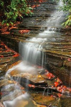 Rimrock waterfall,colorado