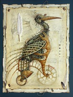 Geek Art Gallery  http://geekartgallery.blogspot.com/2011/11/gallery-steampunk-animals.html