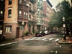 I walk down memory lane because I love running into you. #Boston