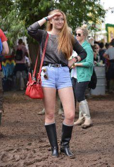 Les stars au festival de Glastonbury 2014