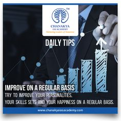 #DailyTips Improve on a regular basis Try to improve your personalities, your skills sets and your happiness on a regular basis.