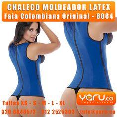 9c06494e6ad YARU IMPORTACIONES - www.Yaru.co - Chaleco de Latex 2 y 3 lineas. Faja  CinturillaFajas ColombianasAvispaRopa ...