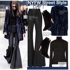 How To Wear NYFW Street Style-Day 1 Outfit Idea 2017 - Fashion Trends Ready To Wear For Plus Size, Curvy Women Over 20, 30, 40, 50