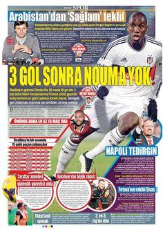 Beşiktaş Manşetleri(10/02/2015)