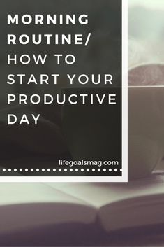 How to set your day up for productivity. Here's what my morning routine looks like. lifegoalsmag.com