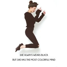 myfashionfruit.com Back To Black, Wearing Black, People, How To Wear, Color, Clothes, Fashion, Outfits, Moda