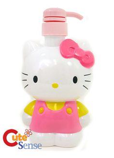 Hello Kitty Soap Dispenser for Bathroom  Hello Kitty Room Ideas Check more at http://www.bonsaikc.com/hello-kitty-room-ideas/