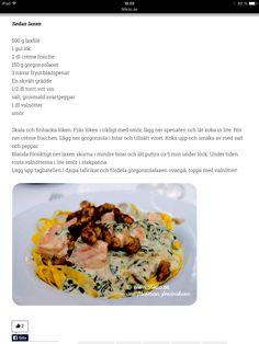 Salmon & gorgonzola