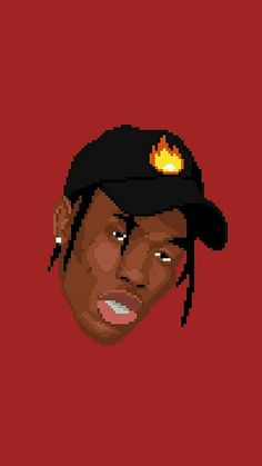 Travi Scott 8 Bit Wallpaper Iphone BackgroundsWallpaper
