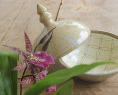 Caixa estilo Marroqui, cerâmica artesanal by Maria Estela
