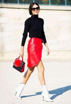 WHO: Stylist Diletta Bonaiuti.  WEAR: Les Petits Joueurs Mini Alex Bunny Bag (similar style).