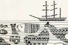 Muestra del portafolio de ilustración y personajes de Juan de Souza, artista argentino