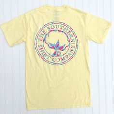 NEW Southern Shirt Co. Flower logo! Find this Tee and more @ www.tyalexanders.com