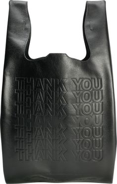 Corner store leather shopper, thank you and I will come again. #lambskin #LA #leather. Cast of Vices