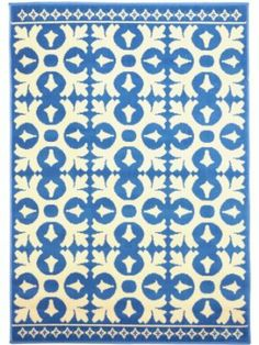 MAhout Lifestyle, Jaipur, Teppich mit Rautenmuster, 122x183cm ...
