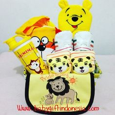 Parcel Baby Animal Yellow
