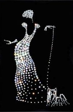 Fashion Illustration ~ With bling!