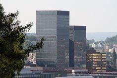 techno park, skyscraper, zurich, building