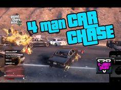 GTA 5 - 4 man car chase Gta 5, Something To Do, Car, Automobile, Autos, Cars