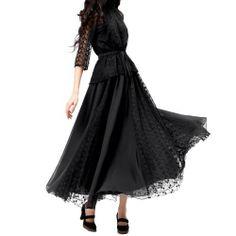 Artka Women's Vintage Oversized Embroidery Lace Geogette Swing Maxi Skirt Artka, http://www.amazon.co.uk/dp/B00EDAM1UU/ref=cm_sw_r_pi_dp_lJsZsb05V2E1W