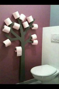 Toilet træ