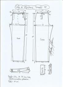 Clothing Patterns, Dress Patterns, Sewing Patterns, Sewing Collars, Plus Size Patterns, Sewing Pants, Pattern Drafting, Pants Pattern, Pattern Making