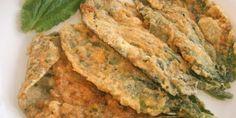 'Crespillos de borraja': dulces propios de la ciudad oscense de Barbastro que se elaboran con borrajas.