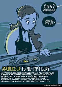 Kącik Kiciputka - Anoreksja to nie typ figury  www.kiciputek.blogspot.com