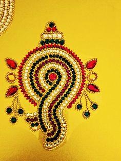 Kundan Rangoli Handmade & elegant Floor / Table / Wall decor | Etsy