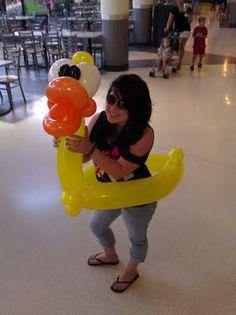 love this balloon sculpture