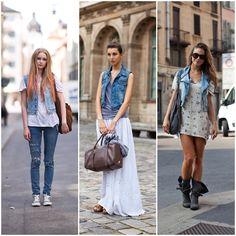 Baby I'm Trendy!: Chaleco y Chaqueta de jean