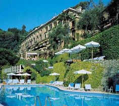 The Hotel Splendido, Portofino, Italy. Oh The Places You'll Go, Great Places, Places To Travel, Beautiful Places, Places To Visit, Beach Resorts, Hotels And Resorts, Dream Vacations, Vacation Spots