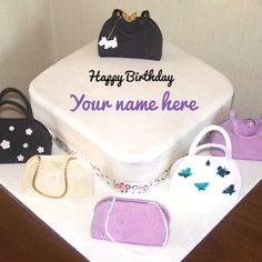 Write Name on Birthday Cake For Sister Online Free