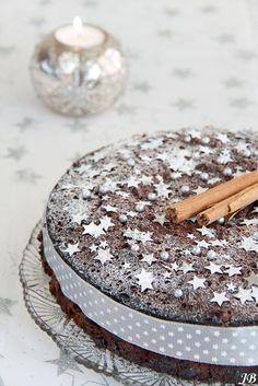 Christmas Chocolate Cake ♥